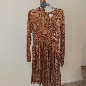 Altuzarra for Target snakeskin dress